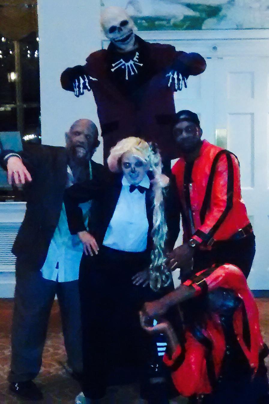 DJ London Gaga and Michael jackson Dancers