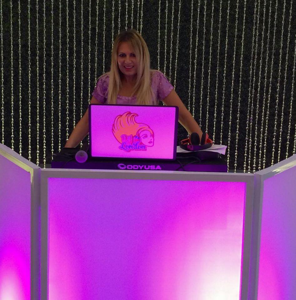 DJ London with Facade Lilac