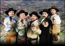 Old West Gunfight
