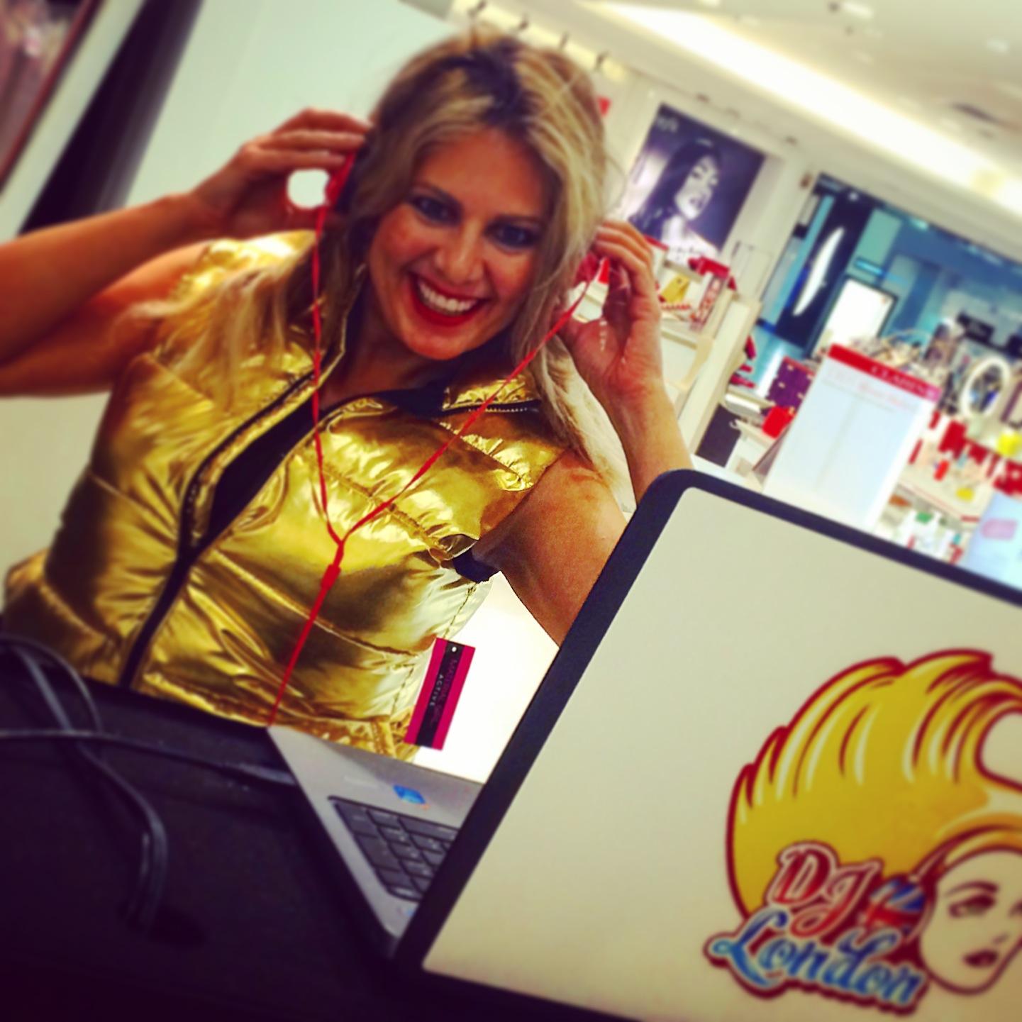 Macy's Gold DJ London